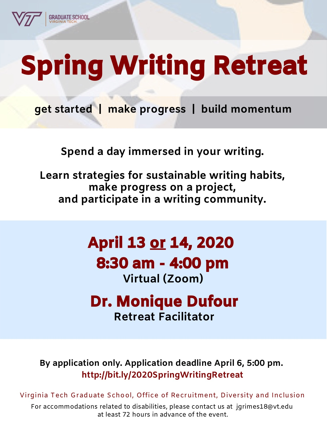 WritingRetreatSpring2020